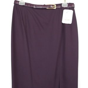 Horst Basler London Belted Skirt